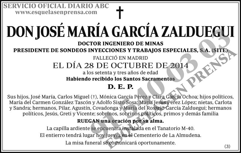 José María García Zalduegui